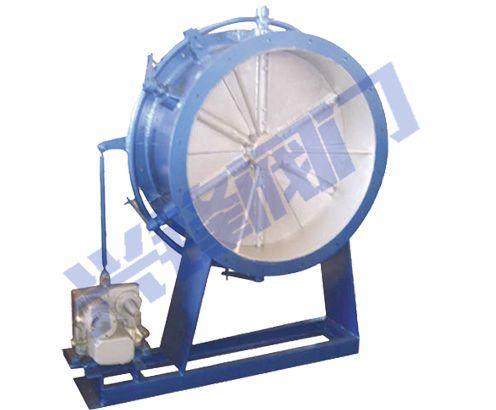 手动,气动,蜗轮 适用介质:空气,烟气,含尘气体 电动风机专用调节阀又图片