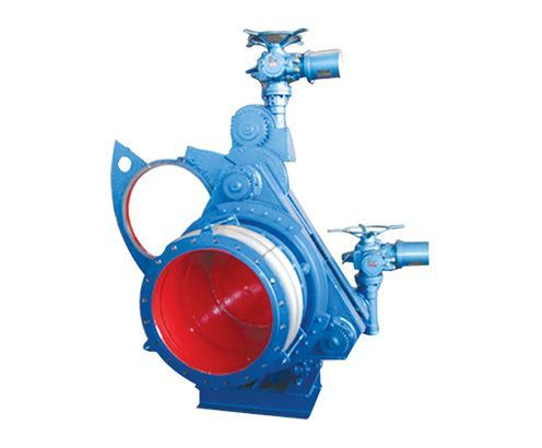 Electric Gear-type Blind Plate Valve
